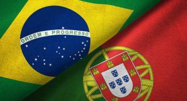 پرچم پرتغال و برزیل - آکادمی زبان ساینا