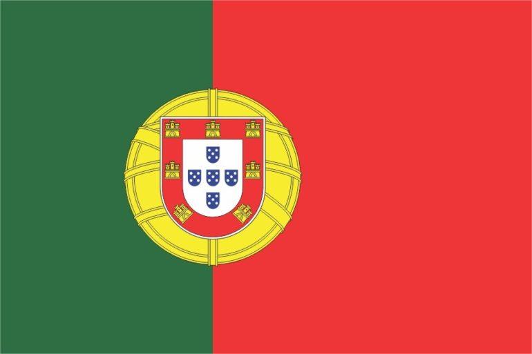 پرچم کشور پرتغال - آکادمی زبان ساینا