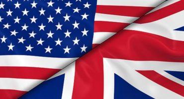 پرچم انگلیس و آمریکا